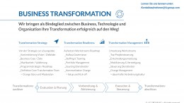 Business Transformation Agenda